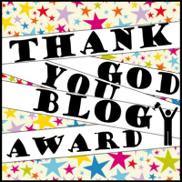 Thank God You Blog Award