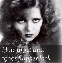How to look like a 1920s flapper